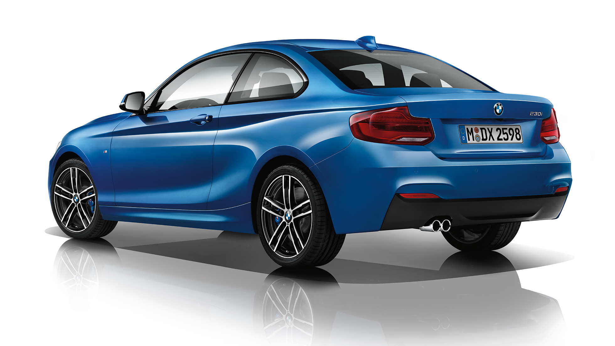 BMW 2-serie Coupé, Model M Sport, set bagfra let drejet