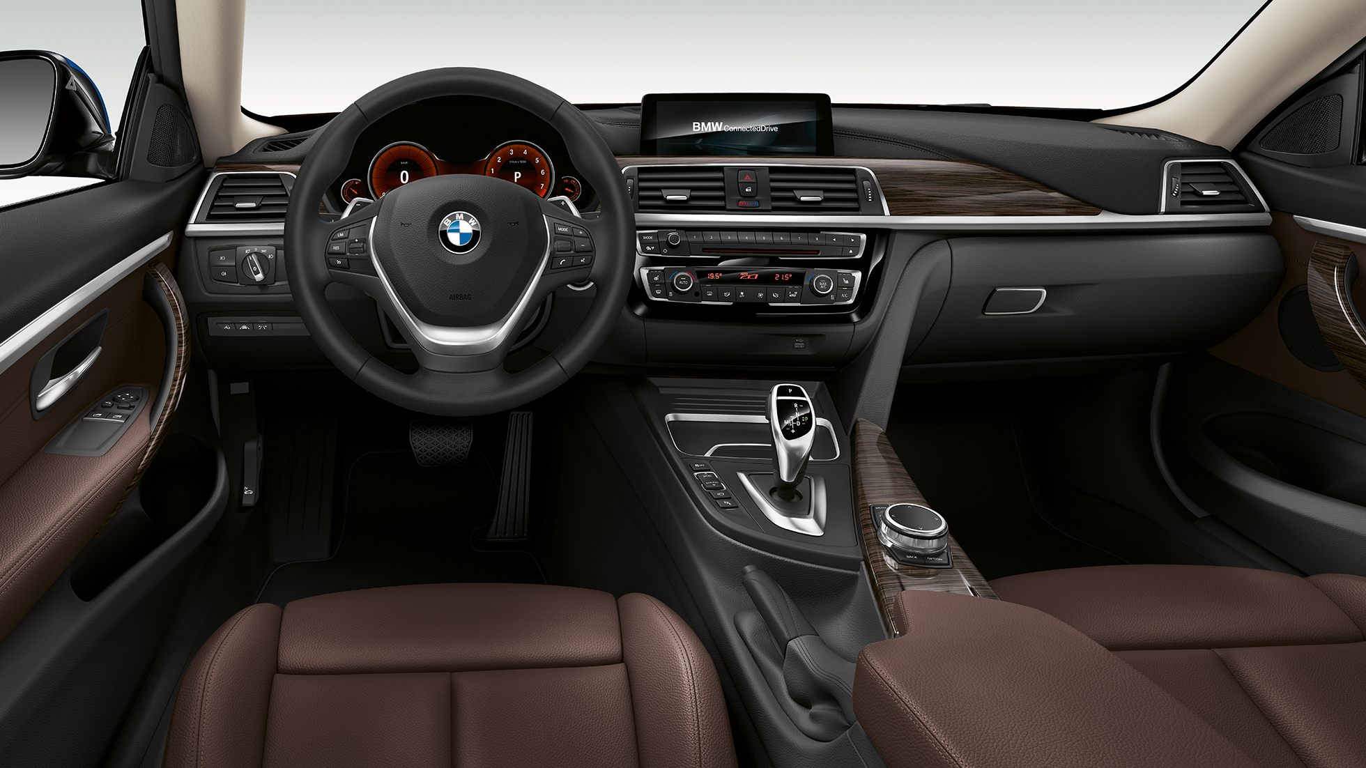 BMW 4-serie Coupé, Model Luxury Line, cockpit