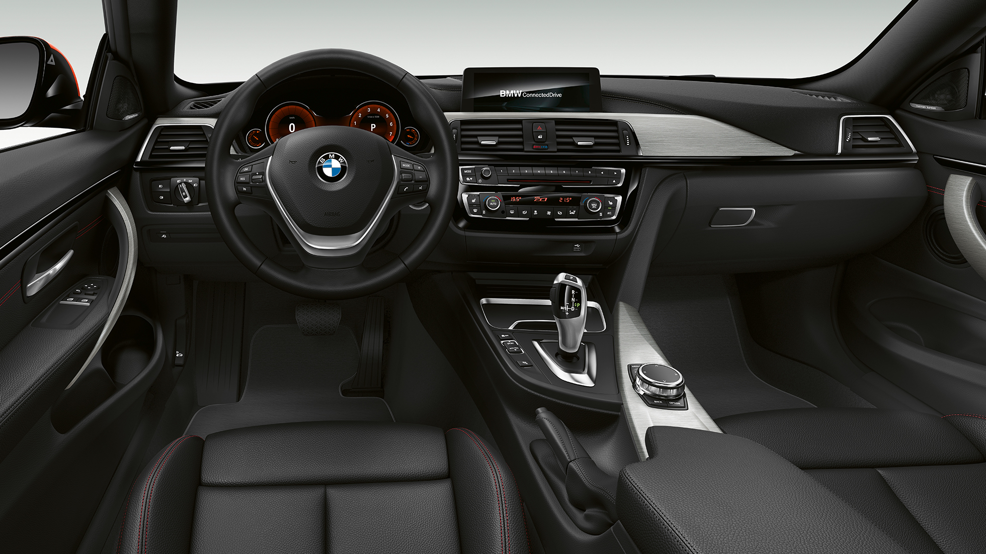 BMW 4-serie Coupé, Model Sport Line, cockpit