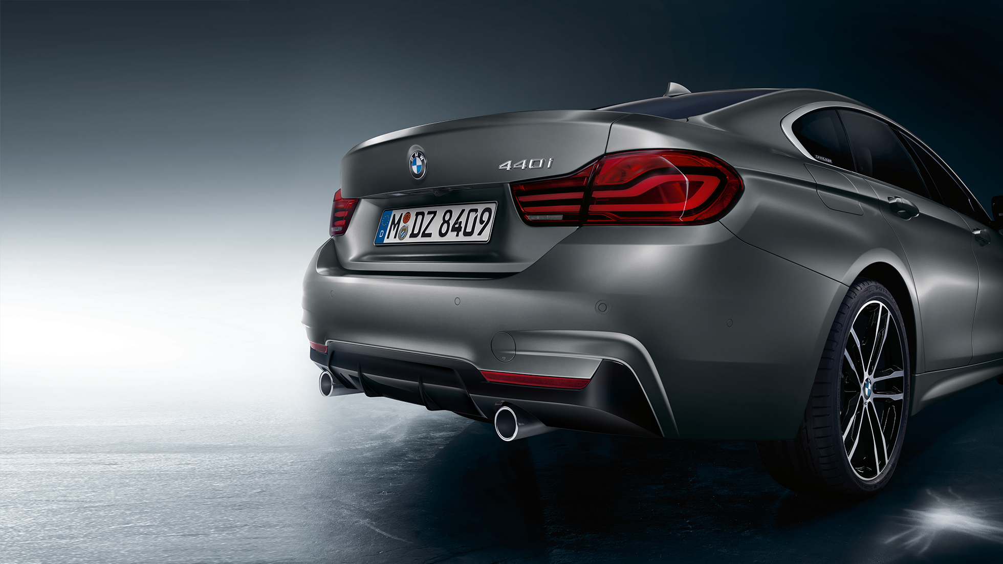 BMW 4 Series Gran Coupé, model name at the rear